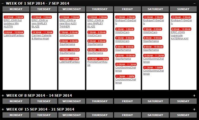 evilangellive.com schedule