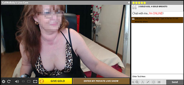 Free granny chat cams
