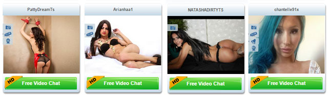 imlive tranny models - TS Cams are displayed with a profile pic and the models name - Read the full review at Livecamreviews.net