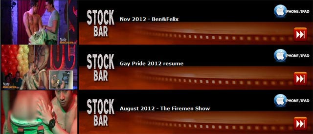 stockbar shows