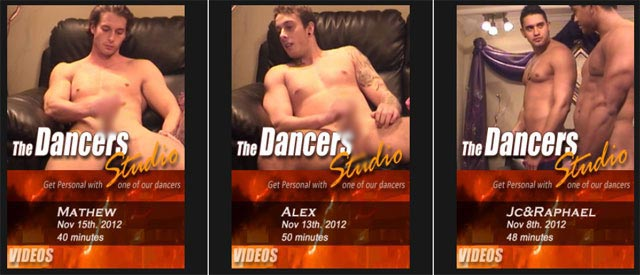nude male dancers studio