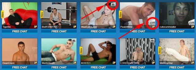 sexier.com Gay Men Live hd models