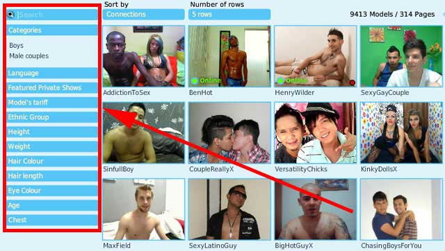 x love gay search