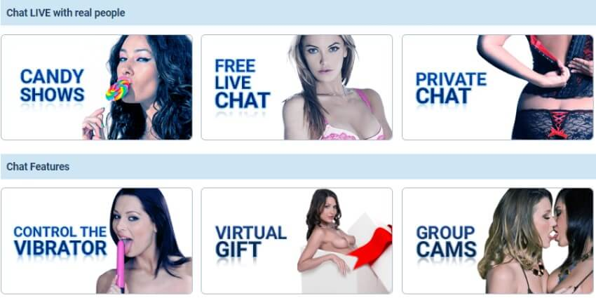 Im Live Chat Option: Live Sex Cam Review by Livecamreviews.net