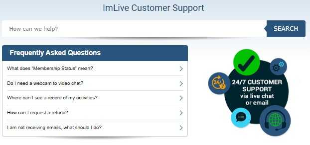 customers support - use their support center to contact them with any questions