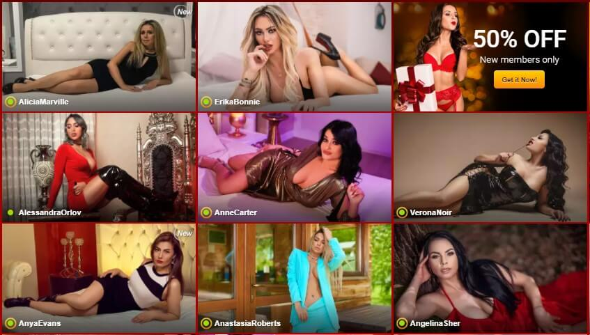 Review of the popular and famous live cam site LiveJasmin by Livecamreviews.net