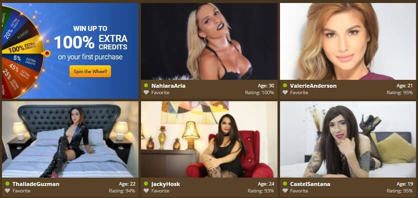 Review of the trans cam site My Tranny Cams