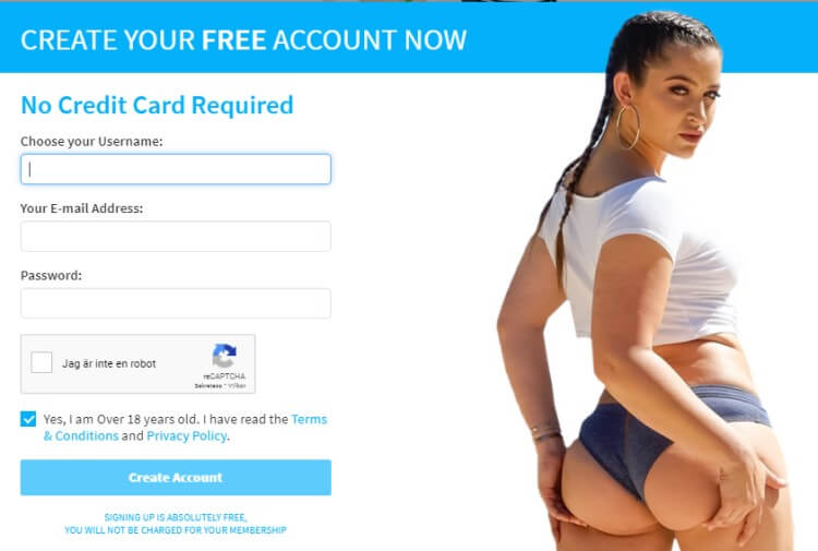 Sign up for a free account no credit card needed